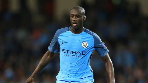 Yaya Toure will not be playing in this season's Champions League group stages