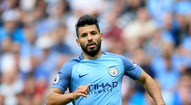Manchester City forward Sergio Aguero has been handed a three-match suspension following a violent conduct charge from the Football Association
