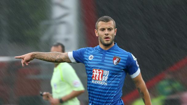Midfielder Jack Wilshere played his first match for Bournemouth since his season-long loan from Arsenal during a testimonial match against AC Milan at the Vitality Stadium