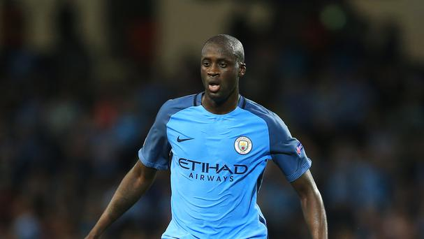 Yaya Toure has made 265 appearances for Manchester City