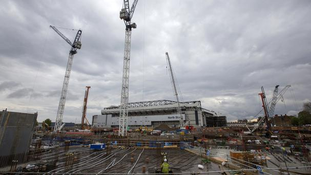 Tottenham's new stadium could one day be home to a London NFL franchise