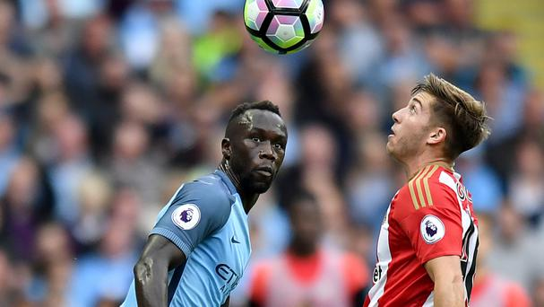 Bacary Sagna could return to action in this weekend's Manchester derby