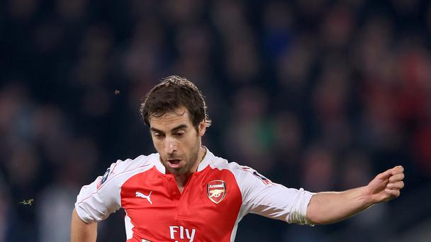 Former Arsenal midfielder Mathieu Flamini has joined Crystal Palace