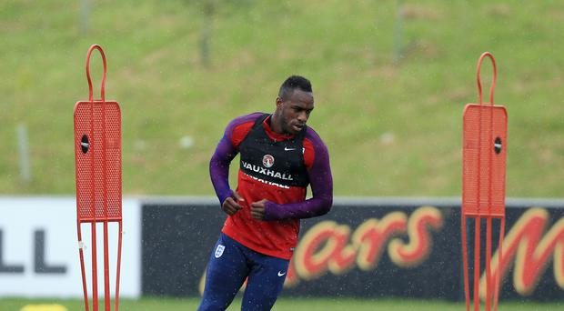 Michail Antonio, pictured, was the surprise inclusion in Sam Allardyce's first England squad