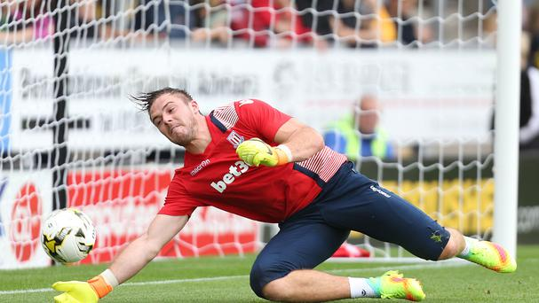 Jack Butland is yet to play a match this season due to ankle problems