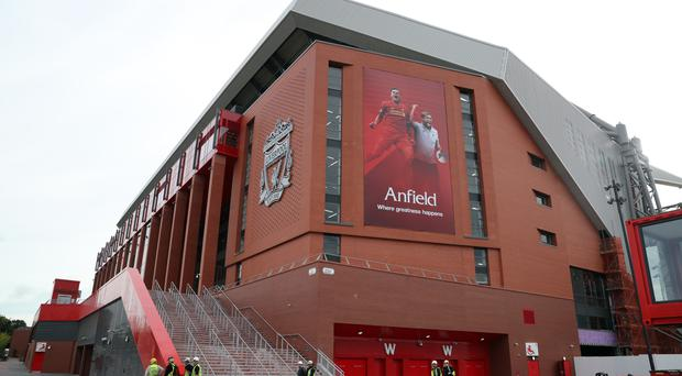 Anfield's new Main Stand has been opened.