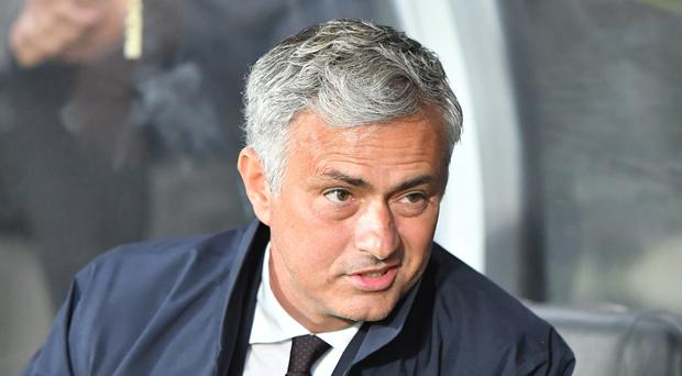 Jose Mourinho will take on old foe Pep Guardiola in Saturday's Manchester derby