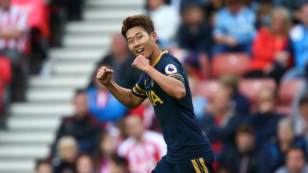 Heung-Min Son scored twice at the bet365 Stadium