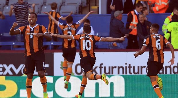 Robert Snodgrass's late goal earned Hull a point at Burnley
