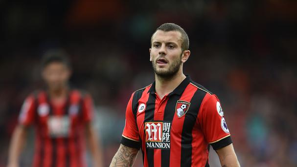 Jack Wilshere made his Premier League debut for Bournemouth