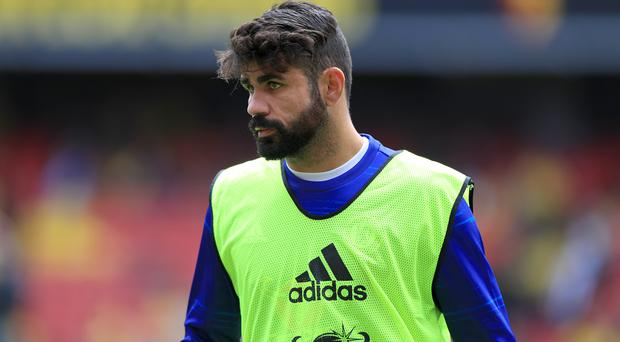 Diego Costa has been told to channel his passion in the right way