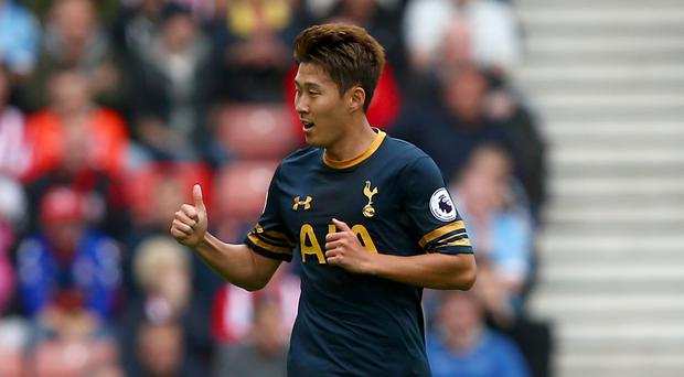 Heung-Min Son only joined Tottenham a year ago