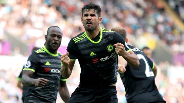 Diego Costa starred for Chelsea