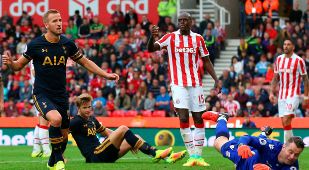 Drought ends: Harry Kane scores his first goal of the season