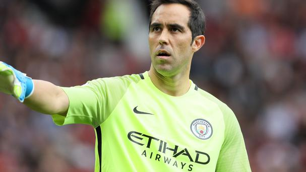 Manchester City goalkeeper Claudio Bravo endured an eventful start to life at the Etihad Stadium