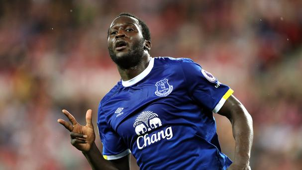 Romelu Lukaku scored all three goals in Everton's 3-0 victory over Sunderland at the Stadium of Light