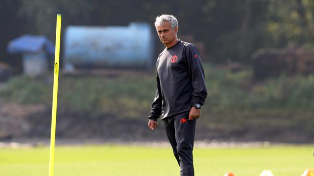 Manchester United's manager Jose Mourinho is serious about winning the Europa League.