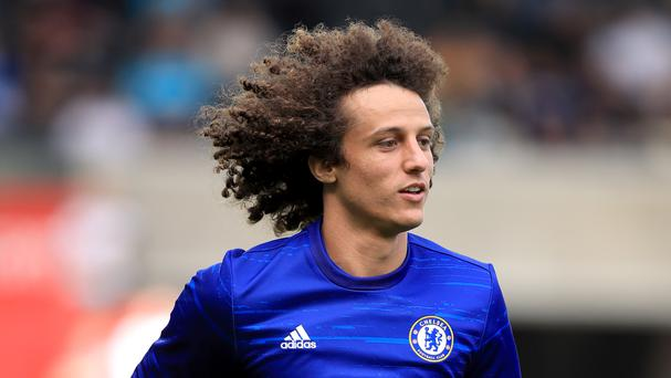 David Luiz will make his second Chelsea debut against Liverpool on Friday night