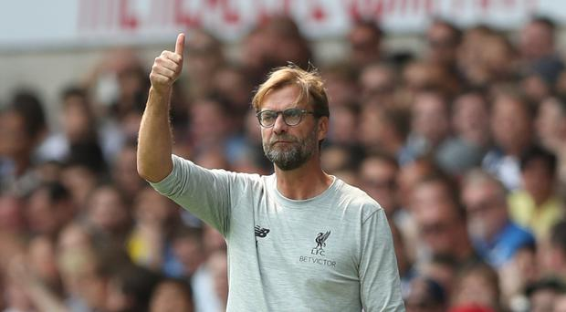 Liverpool manager Jurgen Klopp hopes his players will be greedy for more performances like the 4-1 win over Leicester.