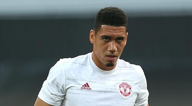 Chris Smalling's first start of the campaign did not go to plan
