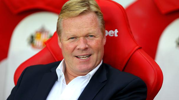 Ronald Koeman's Everton rose to third in the Premier League after Monday's 3-0 win at Sunderland