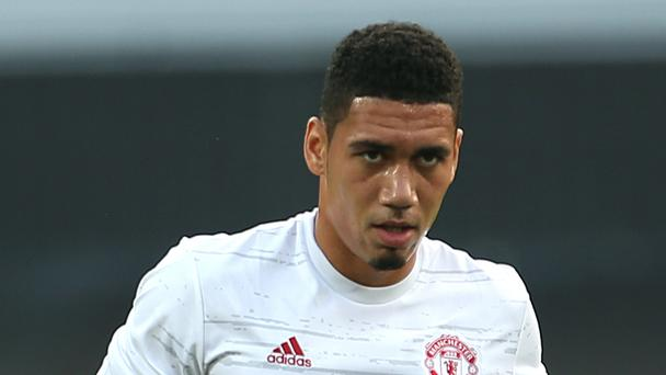 Chris Smalling nearly missed Manchester United's flight back from Holland