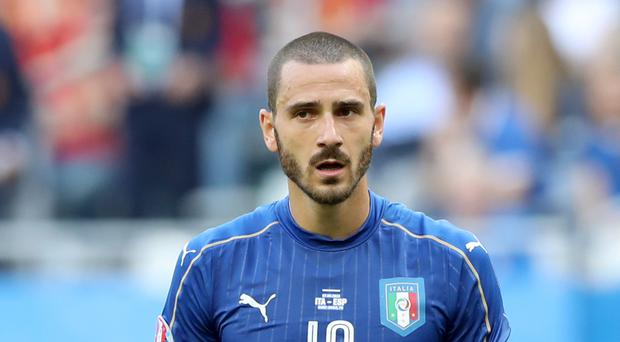Italy's Leonardo Bonucci was tempted by a summer move to Manchester City