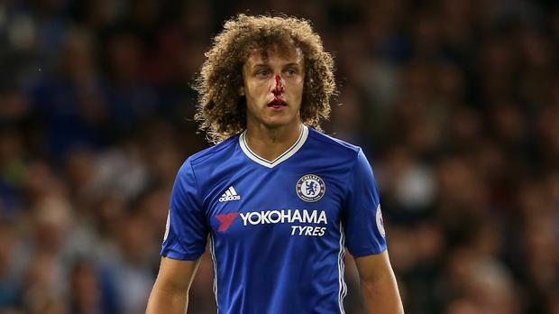 David Luiz endured a tough second Chelsea debut