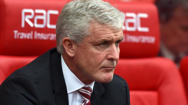 Mark Hughes' Stoke have one point from four games so far this season.