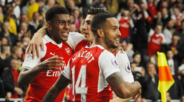 Arsenal moved up to second after securing a 4-1 victory over hull at the KCOM Stadium