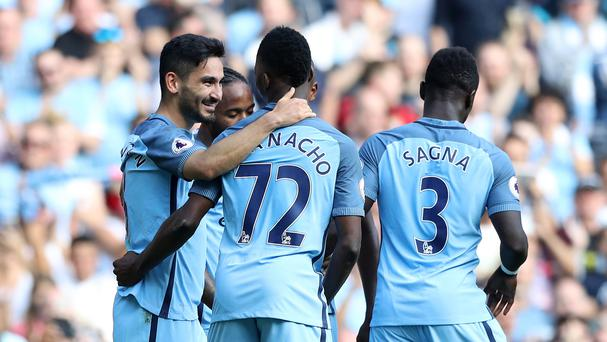 Manchester City run riot at the Etihad Stadium as they breeze past Bournemouth in a 4-0 win