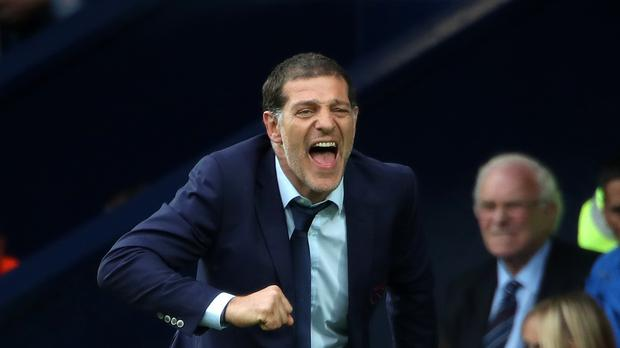 Slaven Bilic admitted he used some strong words after West Ham's latest defeat