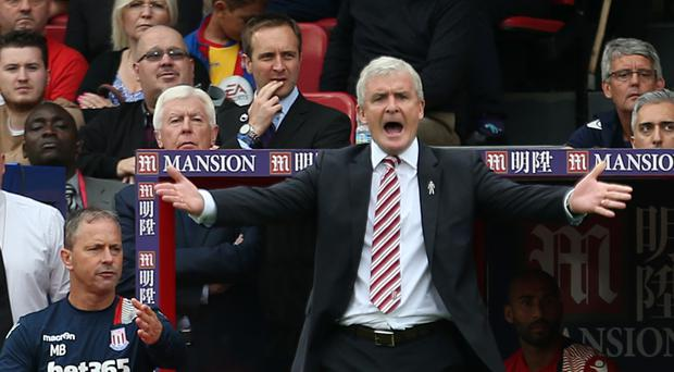 Stoke manager Mark Hughes is under pressure after a poor start to the season
