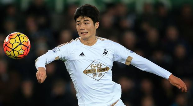 Ki Sung-yueng, pictured, faces a dressing down from Swansea boss Francesco Guidolin