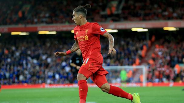 Liverpool forward Roberto Firmino is fit to rejoin the squad for the EFL Cup tie at Derby.