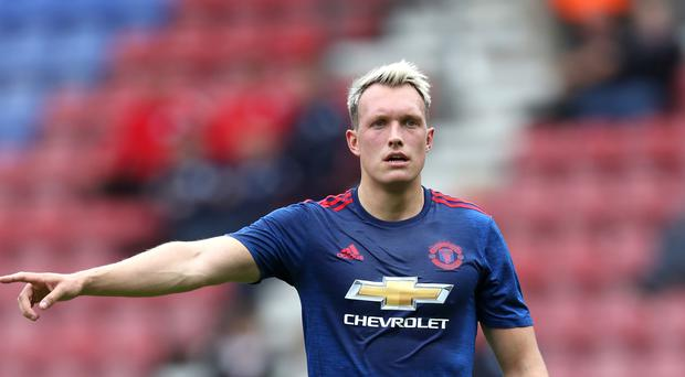 Jose Mourinho is looking to offload defender Phil Jones, pictured, in January