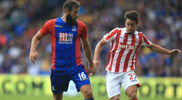 Joe Ledley (left) wants Crystal Palace to show the depth of their squad at Southampton