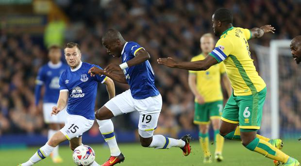 Premier League side Everton were knocked out of the EFL Cup as Norwich secured a 2-0 away win at Goodison Park
