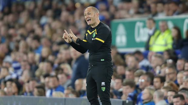 Norwich boss Alex Neil led his side to victory at Goodison Park on Tuesday night