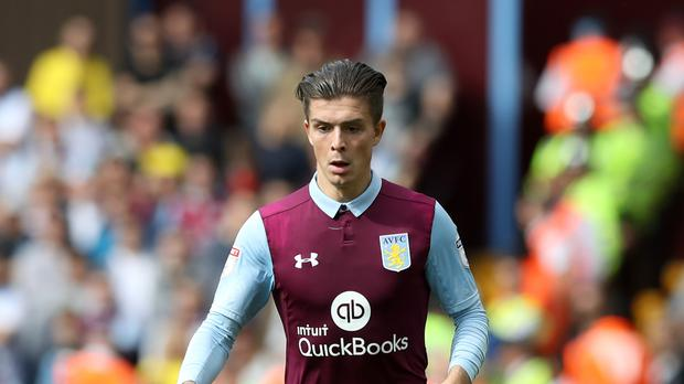Jack Grealish has scored twice in eight games for Aston Villa this season