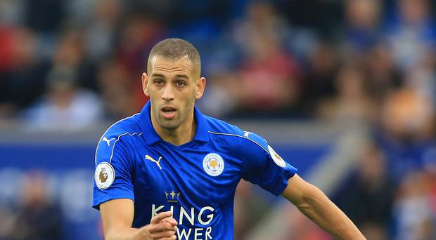 Islam Slimani scored twice on his Leicester debut last week
