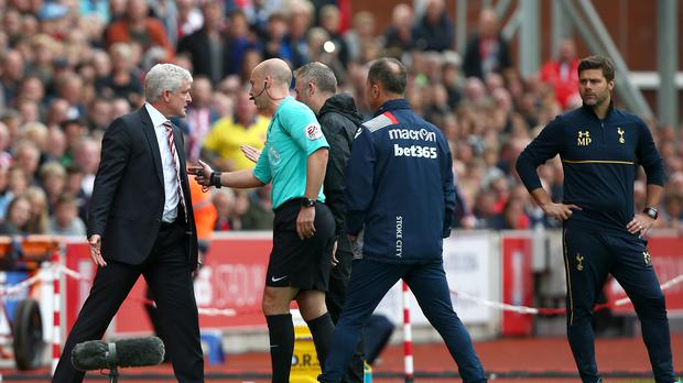 Stoke manager Mark Hughes was fined £8,000 after he accepted the standard punishment following his FA misconduct charge