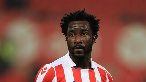 Wilfried Bony joined Stoke on loan from Manchester City on transfer deadline day last month.