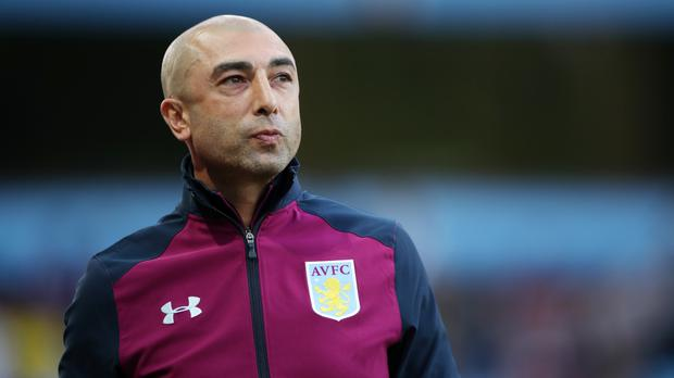 Aston Villa manager Roberto Di Matteo took over at the club in the summer after relegation from the Premier League