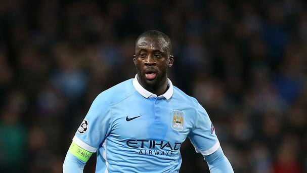 Manchester City's Yaya Toure is at the centre of a war of words between his agent and manager Pep Guardiola