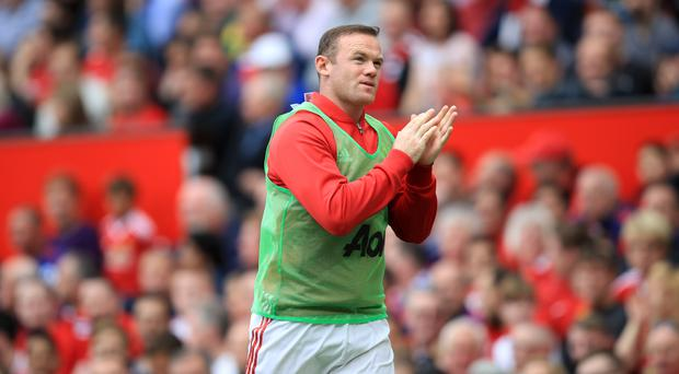 Wayne Rooney was on the bench for 83 minutes against Leicester
