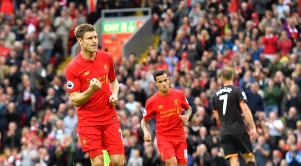 James Milner has seen a different Liverpool already this season