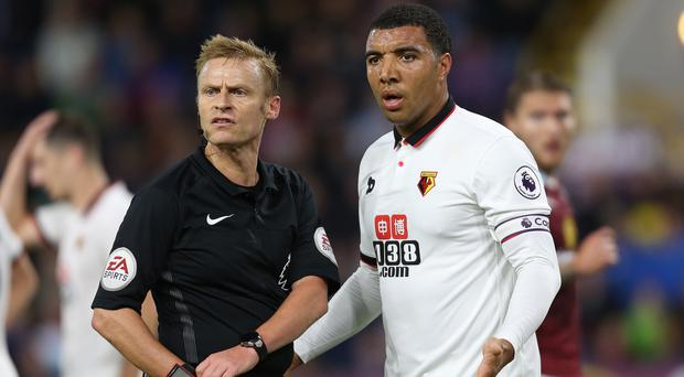 Troy Deeney, right, was disappointed with Watford's answer to Burnley's physical approach