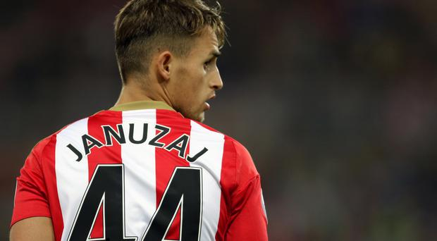 Adnan Januzaj is facing six weeks on the sidelines
