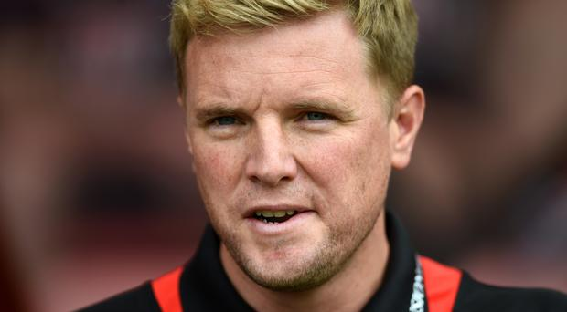 Bournemouth manager Eddie Howe is one of the names being linked with the vacant England job